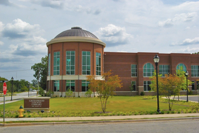 Greenwood County Library, 2010